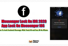 Photo of Lock Facebook Messenger With Touch ID & Face ID On IPhone