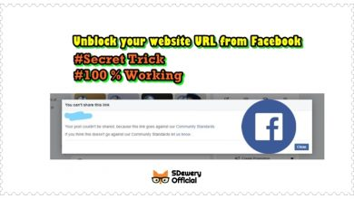 Photo of Unblock website URL from Facebook within 24 hours.