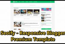 Photo of Seoify Responsive Blogger Premium Template Download