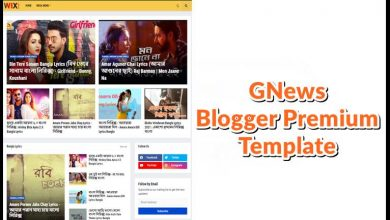 Photo of GNews Responsive Blogger Premium Template Download