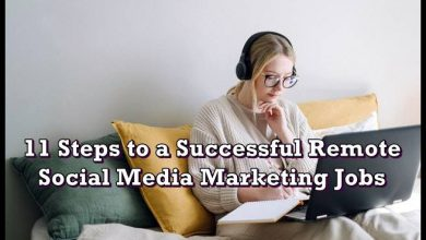 Photo of 11 Steps to a Successful Remote Social Media Marketing Jobs
