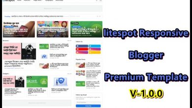 Photo of LiteSpot Responsive Blogger Premium Template